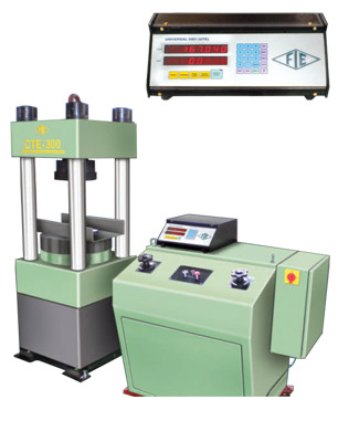 Electronic Four Column Compression Testing Machines ( Model : CTE 200 and 300 4C )