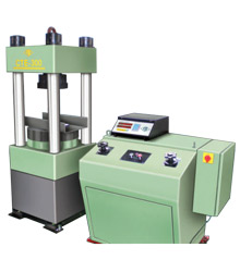 Electronic Four Column Compression Testing Machines